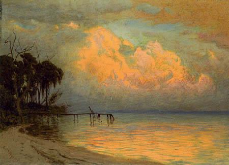 Alexander Helwig Wyant - Florida Sunset