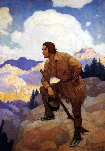 Newell Convers Wyeth - Der Trapper