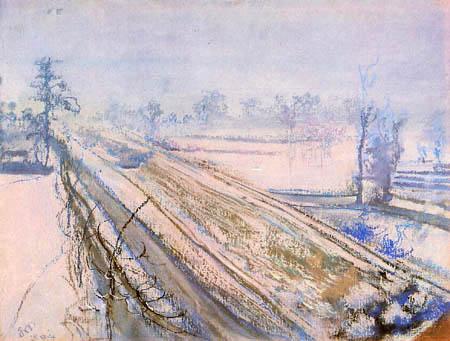 Stanisław Wyspiański - Vista de la colina de Kościuszko