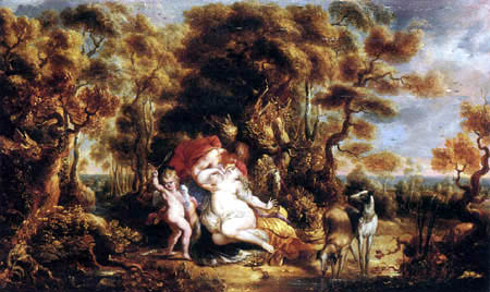 Jan Thomas van Yperen - Venus and Adonis