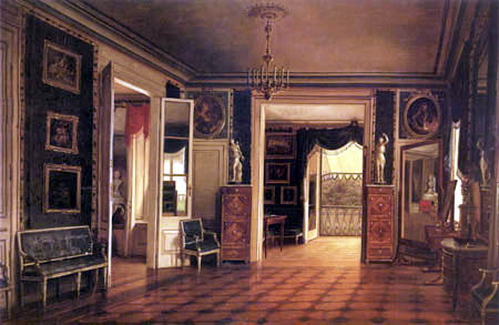 Marcin Zaleski - The real dormitory of the Lazienki palace