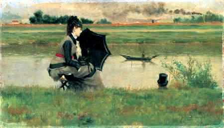Federico Zandomeneghi - Ashore of Seine