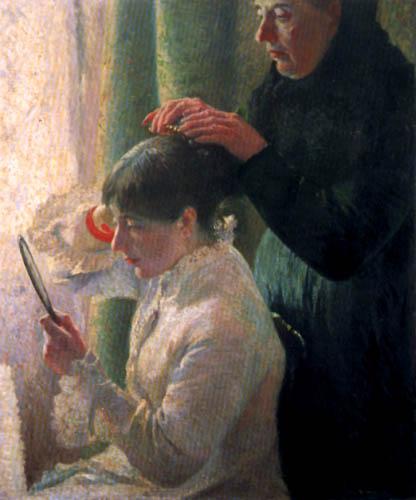 Federico Zandomeneghi - Mother and daughter