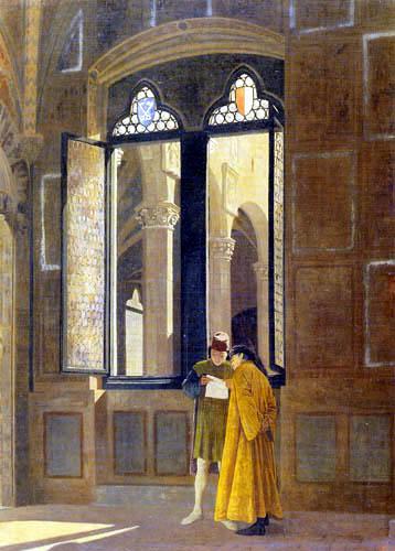 Federico Zandomeneghi - Palazzo Pretorio, Florenz