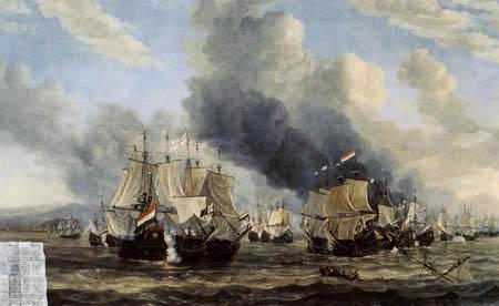 Reinier Zeemann - Die Seeschlacht bei Livorno