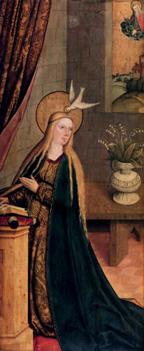 Bartholomäus Zeitblom - Jungfrau Maria