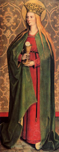 Bartholomäus Zeitblom - St. Barbara