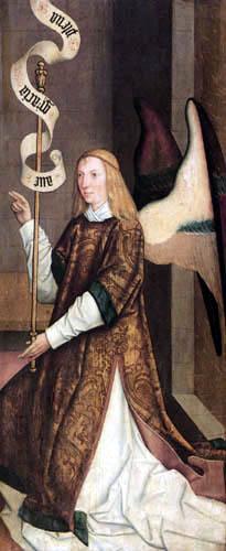 Bartholomäus Zeitblom - Archangel Gabriel