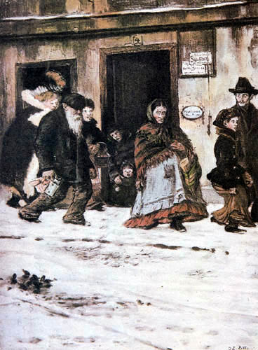 Heinrich Zille - Quartier ouvrier