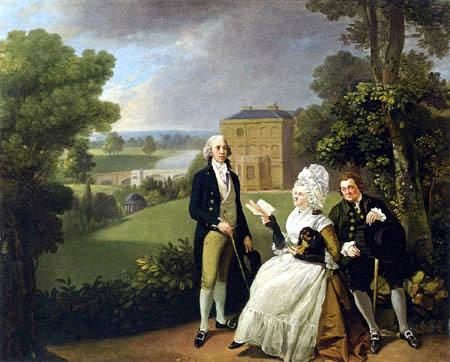 Johann Joseph Zoffany (Zauffaly, Zoffani) - Portrait of the Sayer Family