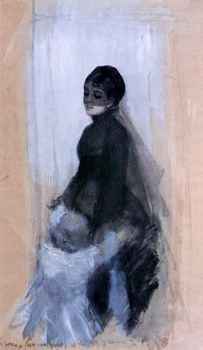 Anders Leonhard Zorn - The Widow