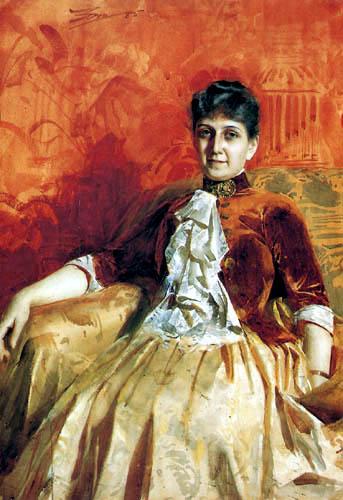Anders Leonhard Zorn - Portrait of Lisen Lamm
