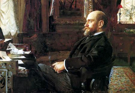Anders Leonhard Zorn - Bankier Sir Ernest Cassel