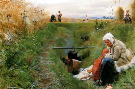Anders Leonhard Zorn - Unser täglich Brot