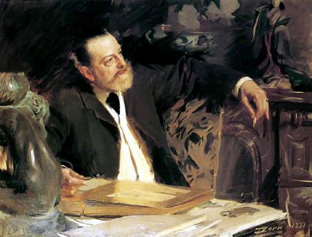 Anders Leonhard Zorn - Kulturminister Antonin Proust