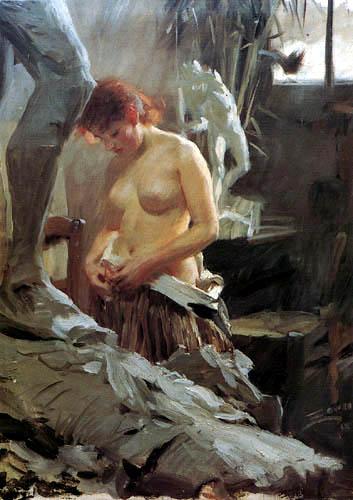Anders Leonhard Zorn - Wilkströms Atelier