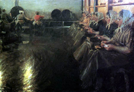 Anders Leonhard Zorn - The large brewery