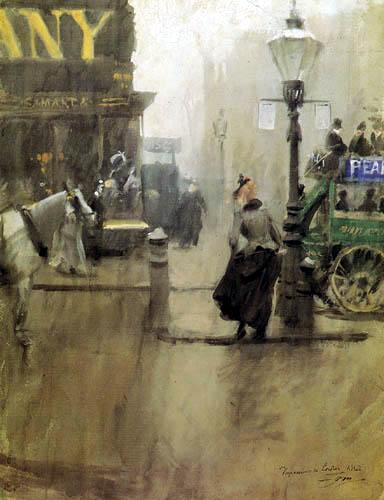 Anders Leonhard Zorn - Impressionen von London