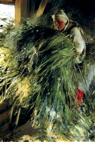 Anders Leonhard Zorn - On the Hayloft