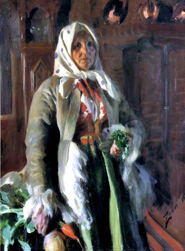 Anders Leonhard Zorn - Die Mutter des Künstlers