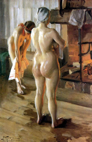 Anders Leonhard Zorn - Mother and daughter