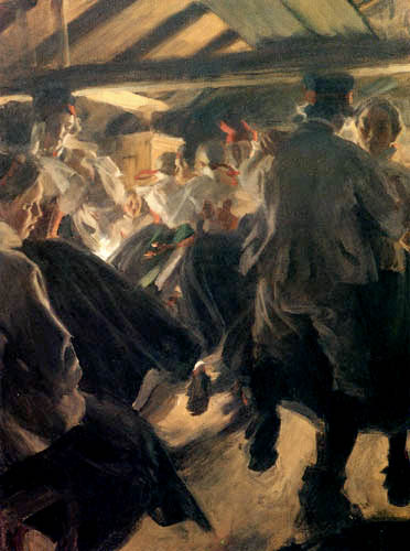 Anders Leonhard Zorn - Baile en el Gopsmoorkate