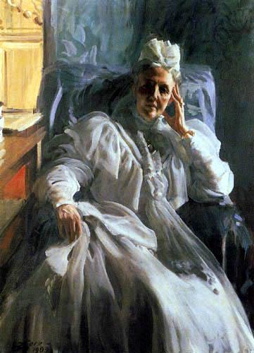 Anders Leonhard Zorn - Portrait of the Queen Sophia