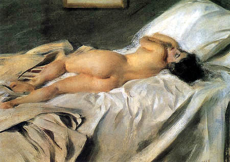 Anders Leonhard Zorn - Sleeping woman