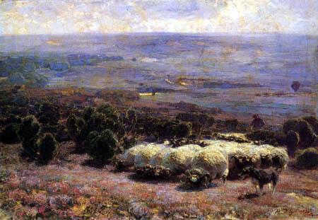Heinrich Johann von Zügel - Moorland