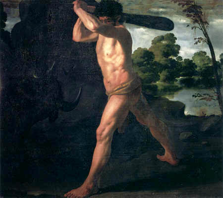 Francisco de Zurbarán - Herkules und der kretische Stier