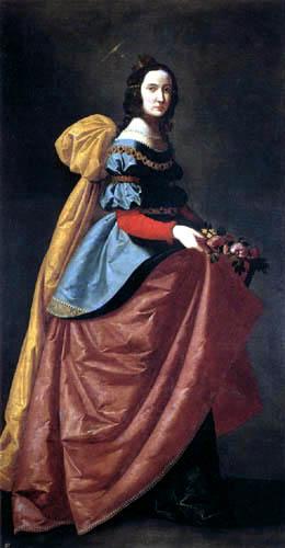 Francisco de Zurbarán - St. Elisabeth of Portugal