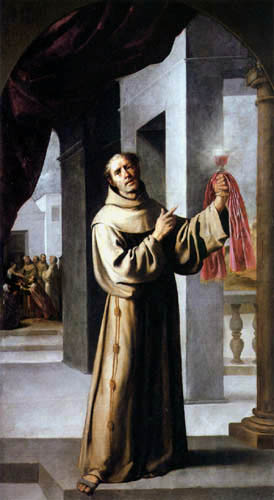 Francisco de Zurbarán - St. James of the Mark