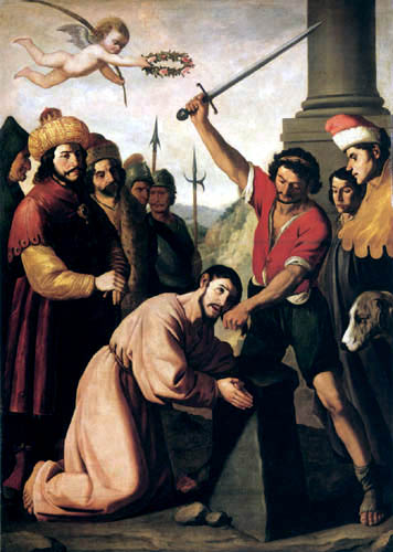 Francisco de Zurbarán - The Martyrdom of St. Jacob