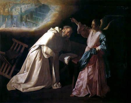 Francisco de Zurbarán - La Vision de Saint Pedro Nolasco
