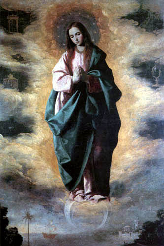 Francisco de Zurbarán - The Immaculate Conception