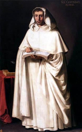 Francisco de Zurbarán - Fray Jerónimo Pérez