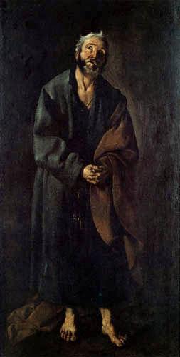 Francisco de Zurbarán - Der Apostel Petrus