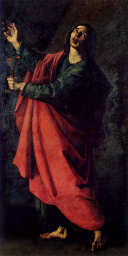 Francisco de Zurbarán - John the Baptist