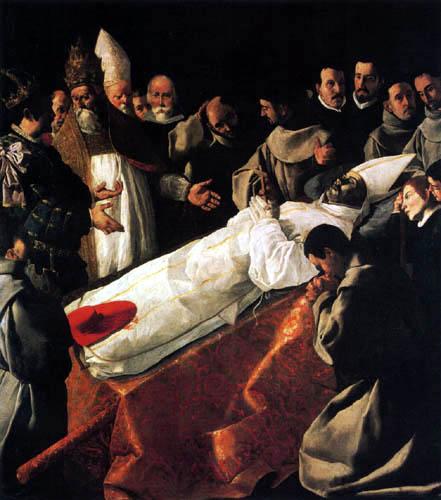 Francisco de Zurbarán - The Entombment of Saint Bonaventure