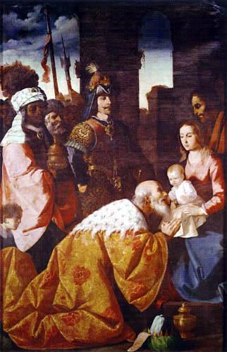 Francisco de Zurbarán - Die Anbetung der Könige