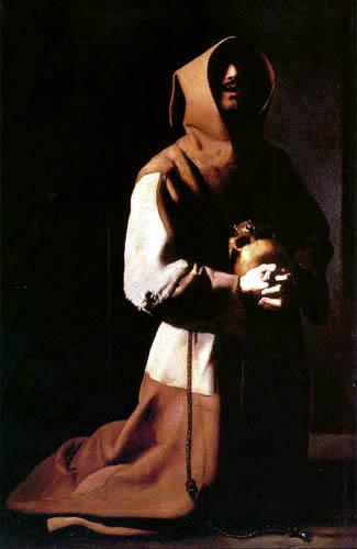 Francisco de Zurbarán - Der hl. Franz in Meditation
