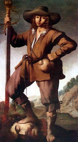 Francisco de Zurbarán - David