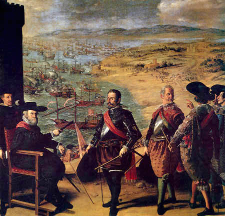 Francisco de Zurbarán - Defense of Cadiz against the English People