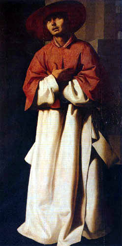 Francisco de Zurbarán - The cardinal Nicholas Albergati