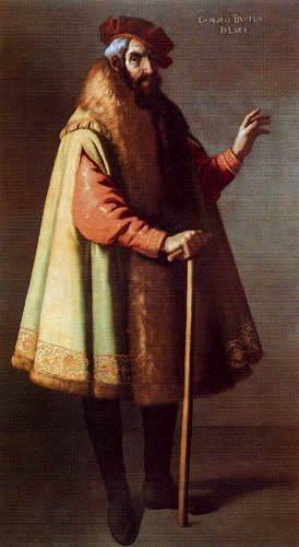 Francisco de Zurbarán - Gonzalo Bustos de Lara