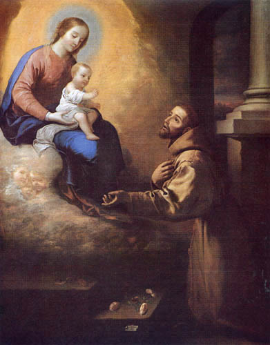 Francisco de Zurbarán - St. Francisco of  Asis