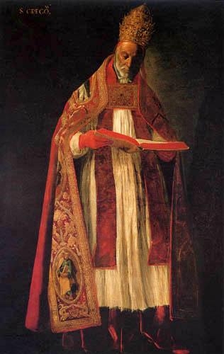 Francisco de Zurbarán - Hl. Gregor