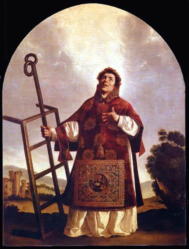 Francisco de Zurbarán - San Lorenzo