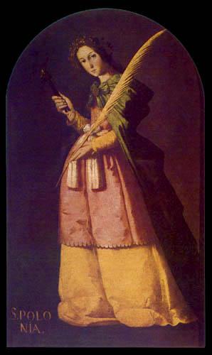 Francisco de Zurbarán - Santa Apolonia