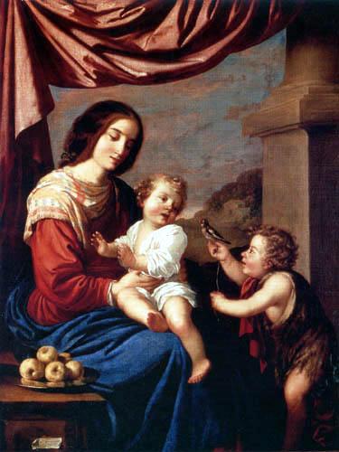 Francisco de Zurbarán - Maria mit Kind und dem Johannesknaben